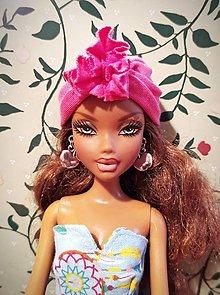 Hračky - Jabĺčkové náušnice pre Barbie - 12457041_