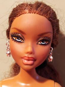 Hračky - Barbie, náušnice, malé, strieborné - 12457157_