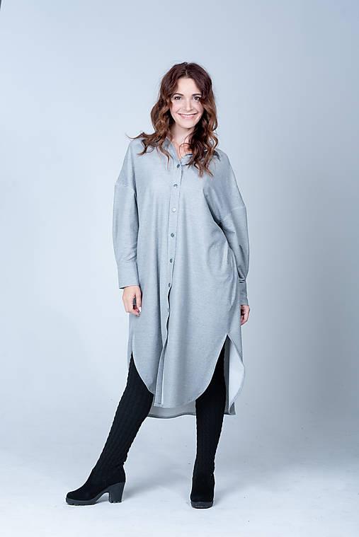 Šaty - Košeľové šaty - 12454491_