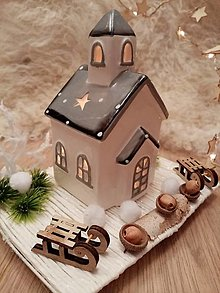 Dekorácie - Svietnik na čajovú sviečku - Tri oriešky pre popolušku - 12454742_