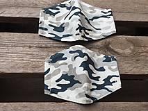 Rúška - vojenské  ....rúško XS,S - 12455122_