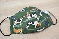 pánske ochranné rúško (Zelená)