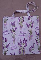 Nákupné tašky - Nákupná taška Levandula - 12454238_