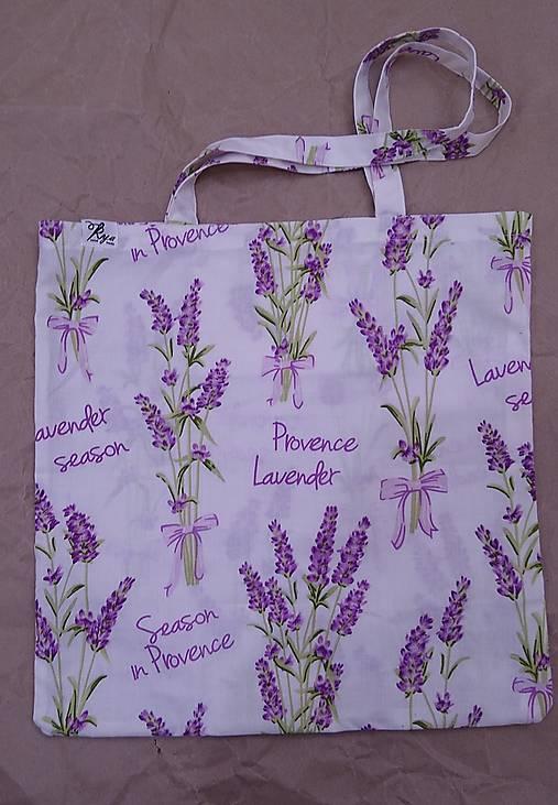 Nákupná taška Levandula