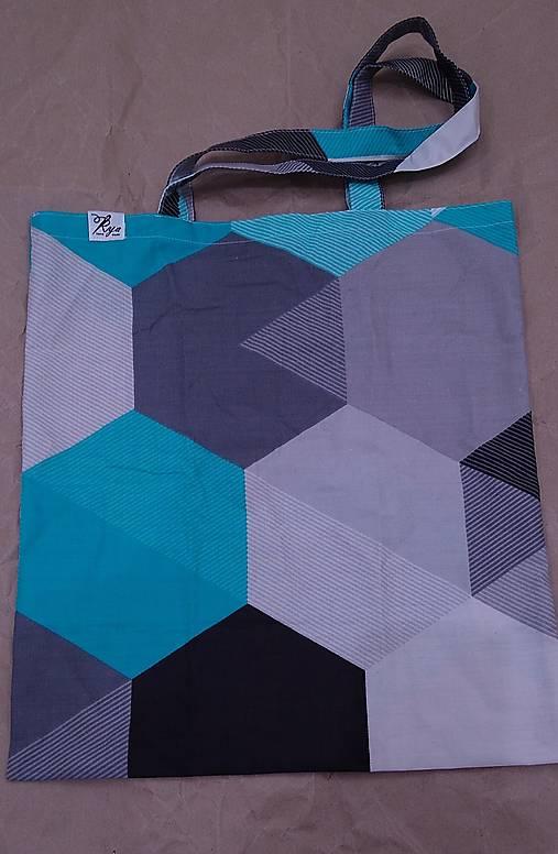 Nákupná taška Geometria 1