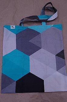 Nákupné tašky - Nákupná taška Geometria 1 - 12454240_