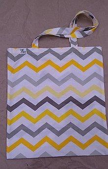 Nákupné tašky - Nákupná taška Geometria 3 - 12454247_