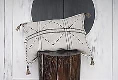 Úžitkový textil - Boho vankúš - 12455588_