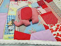 Textil - Ružové pohladenie - 12464057_
