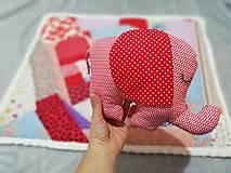Textil - Ružové pohladenie - 12464058_