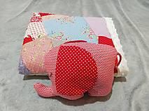 Textil - Ružové pohladenie - 12464064_
