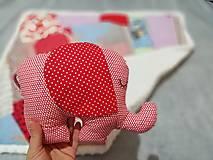 Textil - Ružové pohladenie - 12464066_