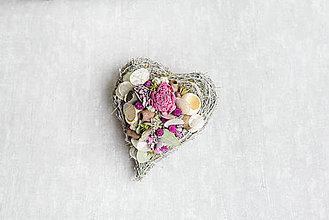 Dekorácie - Dušičkové srdce na hrob - 12459879_
