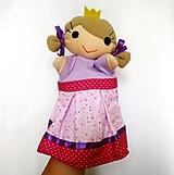 Maňuška princezná - v ružovosrdiečkovej sukničke