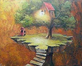 Obrazy - PODVEČER NA KONCI SVĚTA - 12463253_