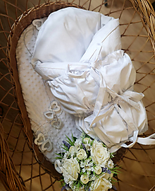 Textil - Paperová zavinovačka biela - 12460620_