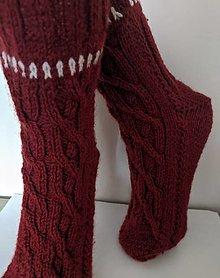 Obuv - Pánske pletené ponožky - 12461142_