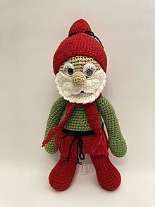 Dekorácie - Mikuláš Vianočná dekorácia/hračka - 12463344_