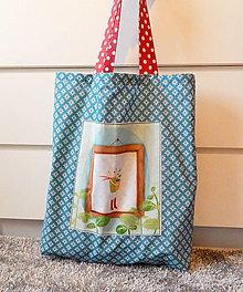 Nákupné tašky - Nákupná taška - Smelý Zajko - 12468170_