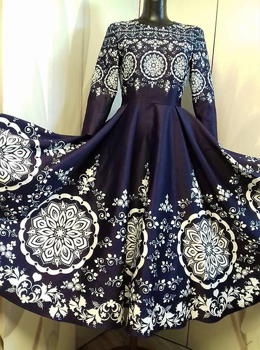 Spoločenské šaty Floral Folk -