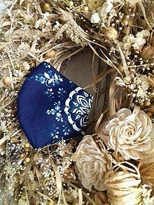 Rúška - Dizajnové bavlnené rúška podšívané jemnučkým ľanom, tvarované, rôzne vzory - 12464651_