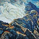 Obrazy - Výdych hory - 12467579_