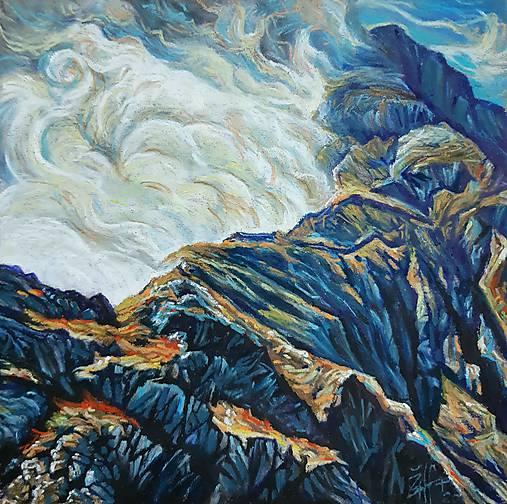 Výdych hory
