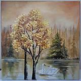 Obrazy - jesenná tíšina - 12465738_
