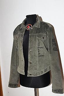 """Kabáty - kožená bunda """"edukačná"""" - 12468052_"""
