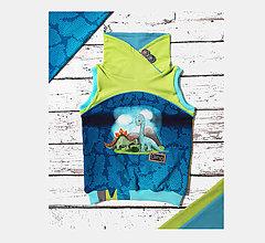 Detské oblečenie - Vesta / dino - 12464712_