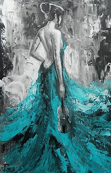 Obrazy - TYRKYSOVÁ MELODIA - 12468338_