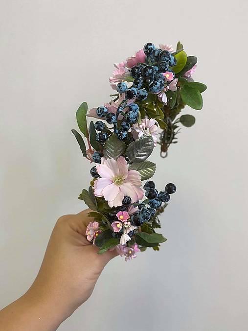 """Kvetinový venček """"túžba po láske"""""""