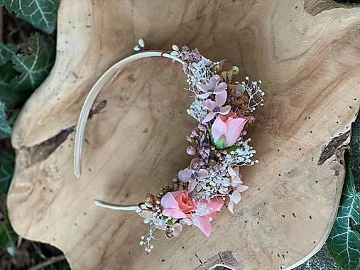 """Kvetinová čelenka """"moje šťastie"""""""