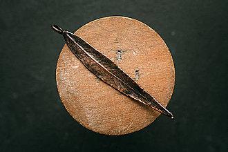 Náhrdelníky - Prívesok vŕba patina - 12469242_
