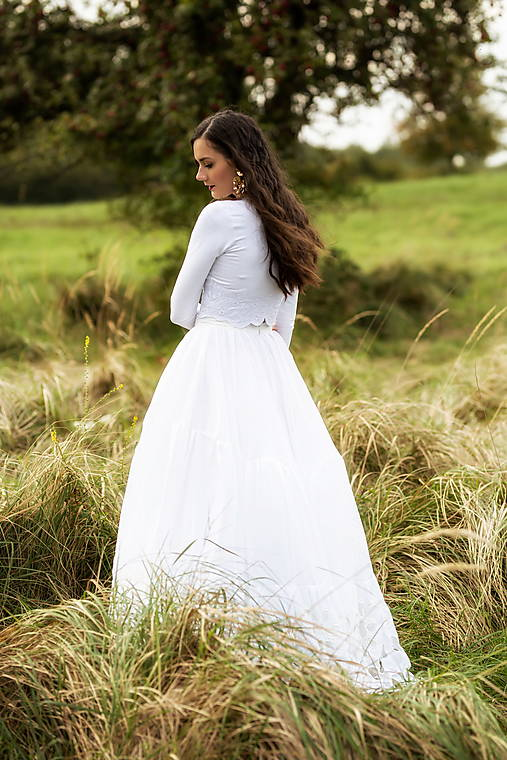 madeirová sukňa Sága krásy