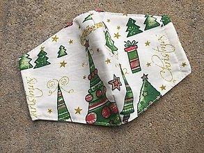 Rúška - vianoce 5 ....rúško XS,S - 12464450_
