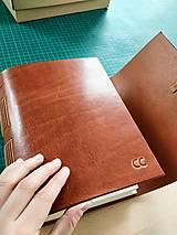 Papiernictvo - Kožený fotoalbum Ellaria - 12467911_