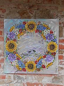 Obrazy - V kruhu lásky - 12468110_
