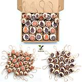 Dekorácie - Visačky na darčeky s domčekmi - 12472554_