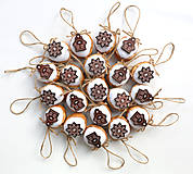 Dekorácie - Visačky na darčeky s domčekmi - 12472568_