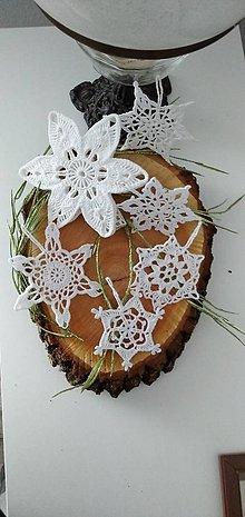 Dekorácie - Háčkované vianočné ozdoby VI - 12473829_