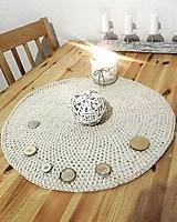Úžitkový textil - Prestieranie prírodné - 12471381_