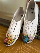 Obuv - ♥ Ručne maľované tenisky ♥ - 12470513_