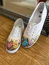 Obuv - ♥ Ručne maľované tenisky ♥ - 12470514_