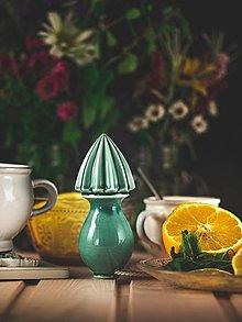Pomôcky - Citrusovač - lis na citrusy - mint - 12470111_