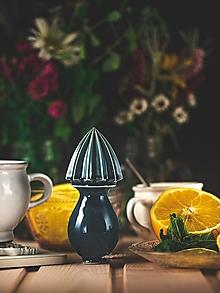 Pomôcky - Citrusovač - lis na citrusy - modrý - 12470129_