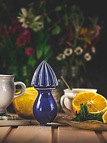 Pomôcky - Citrusovač - lis na citrusy - královská modř - 12470217_