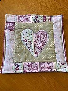 Úžitkový textil - kuchynská chňapka (Béžová) - 12470324_