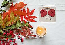 Náušnice - Macramé Náušnice - Lístky Jeseň - 12473420_