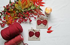 Náušnice - Macramé Náušnice - Lístky Jeseň - 12473436_